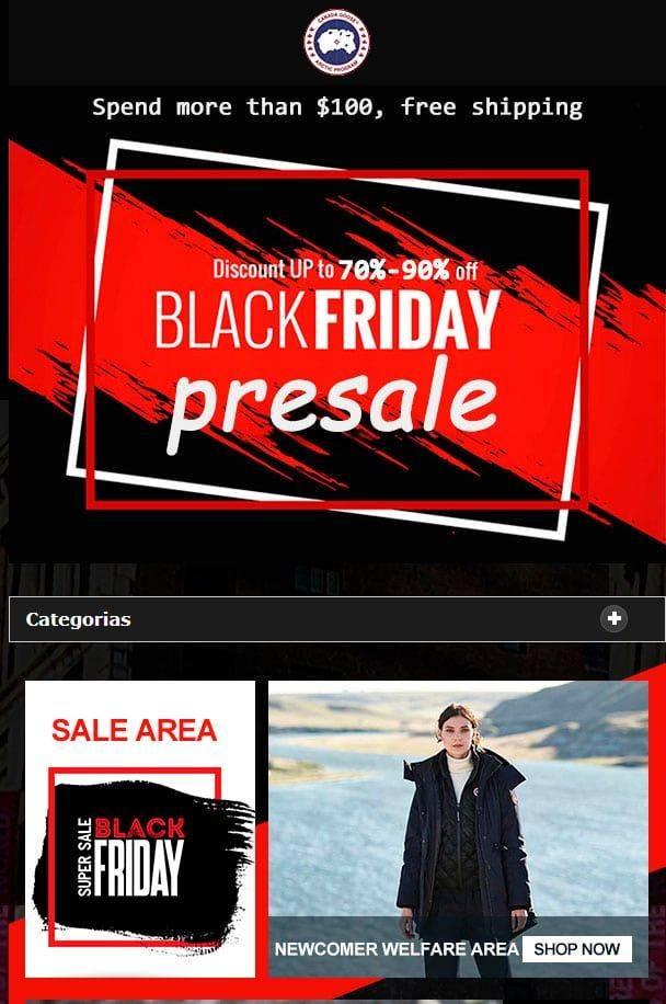 Clothesfairc.club Tienda Online Falsa Canada Goose