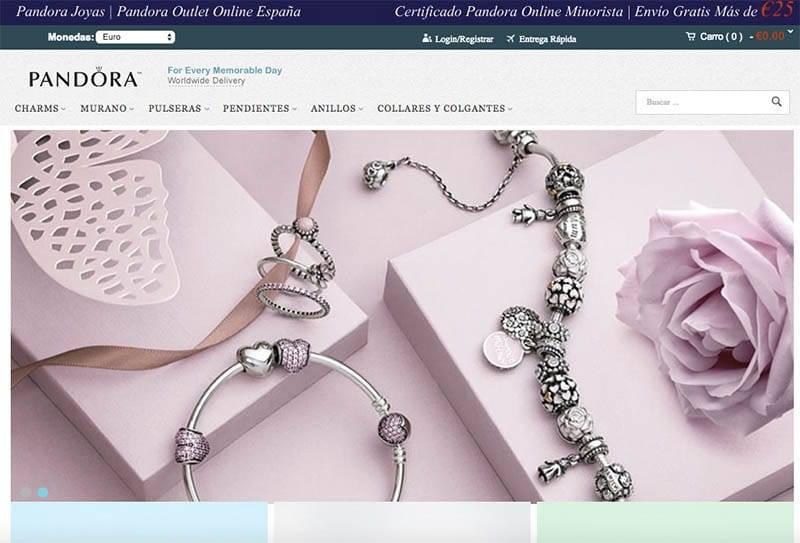 Joyases.com Tienda Falsa Pandora Home