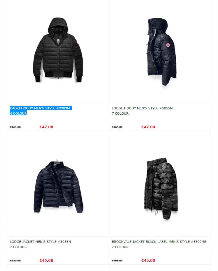 Loveclothingssale.club Fake Online Shop Scam