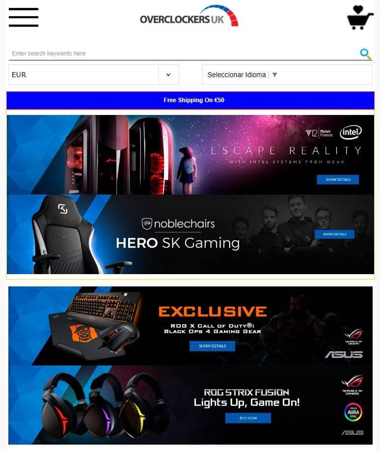 Overolma.xyz Tienda Online Falsa Gaming