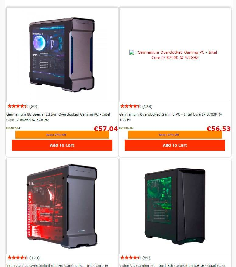 Overolma.xyz Tienda Online Falsa Computers