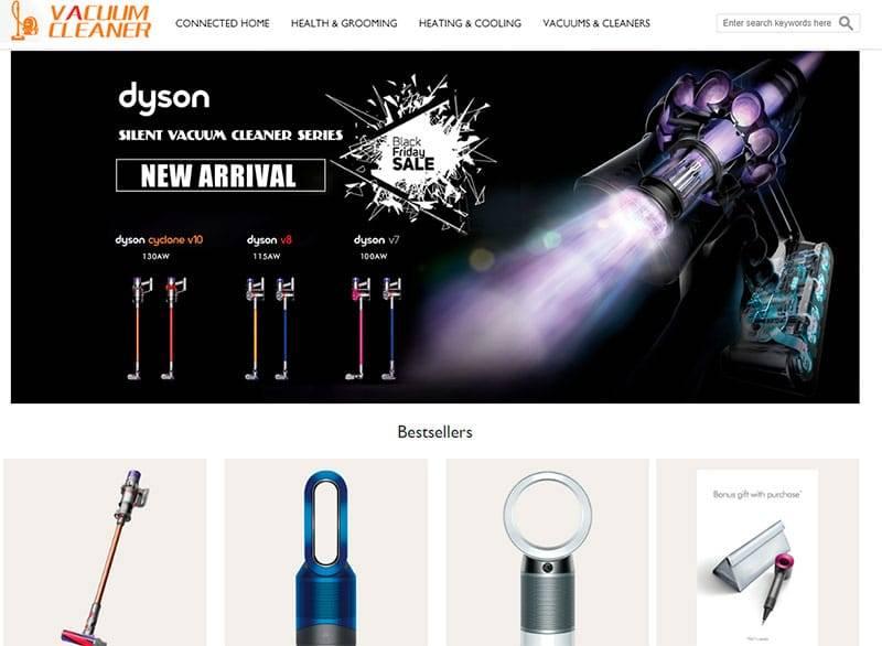 Oyrvj.com Tienda Falsa Online Aspiradoras Dyson