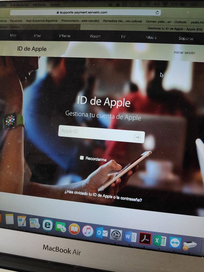Phising Apple Icloud