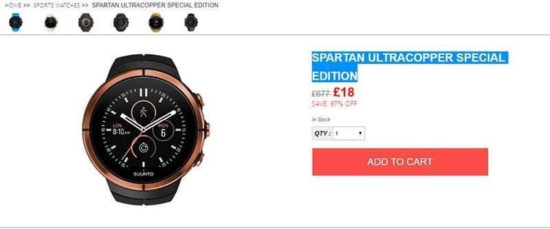 Suuntoshop.online Tienda Falsa Relojes