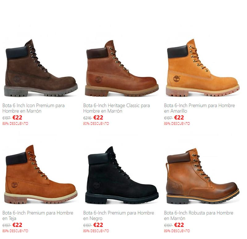 Timberlandetienda.online Fake Online Shop Scam Boot