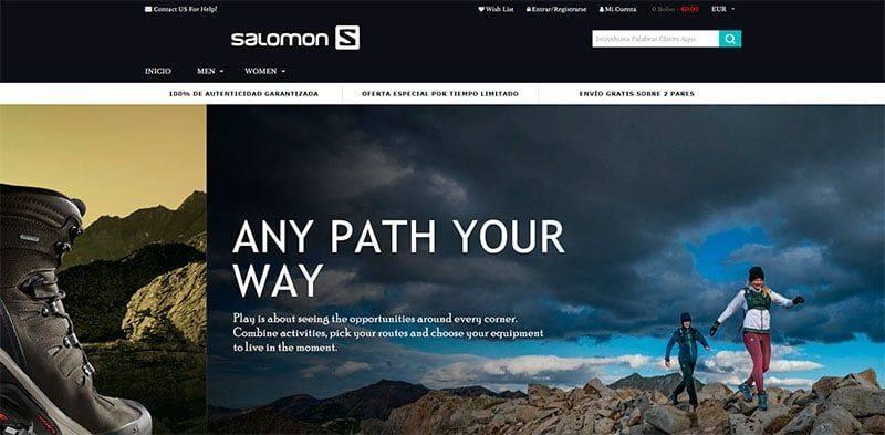 Ucdamqn.com Tienda Falsa Online Botas Salomon