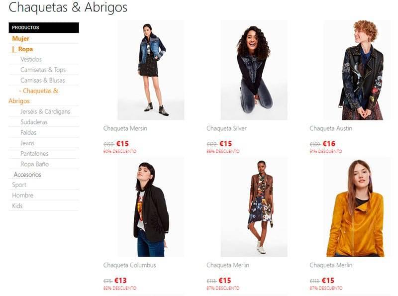www.desigualitienda.com Tienda Falsa Online Moda