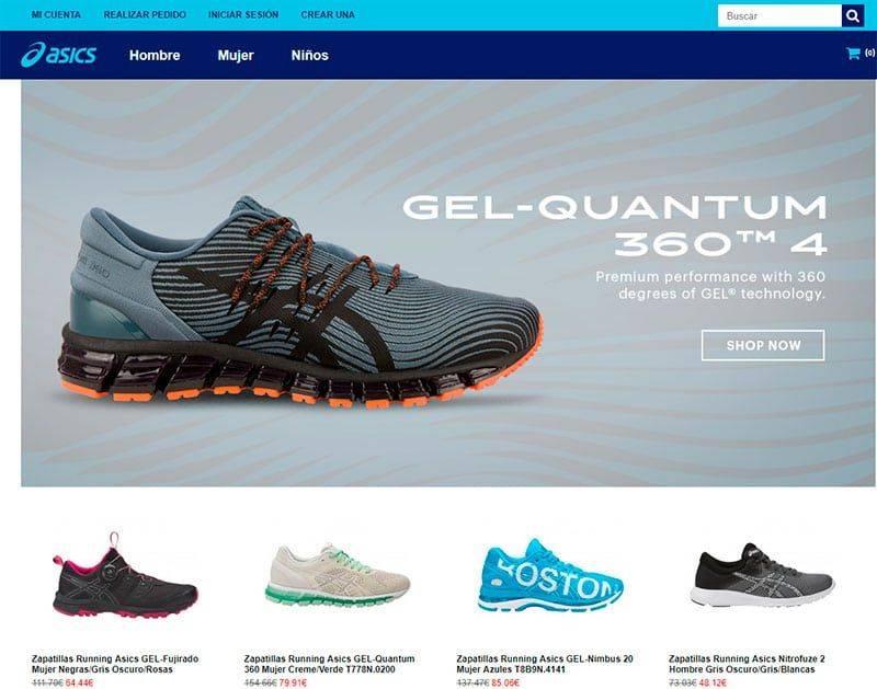 Asicsgelcontend4.com Tienda Falsa Online Zapatillas Asics