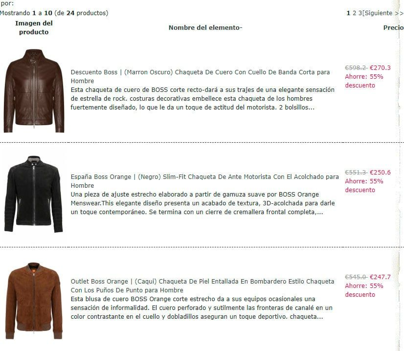 Bionumeric.es Fake Online Shop Hugo Boss