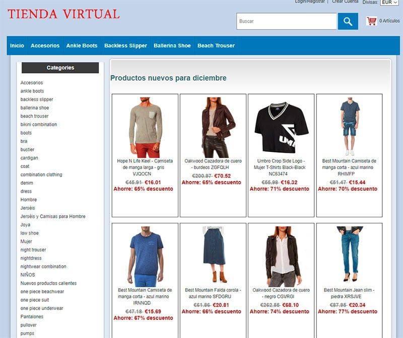 Dronica360.es Tienda Falsa Online Multiproducto Ropa