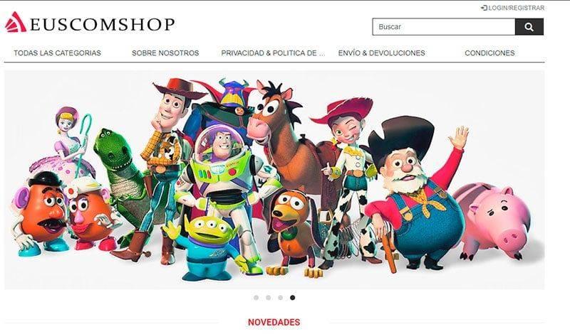 euscomshop.com tienda falsa multiproducto