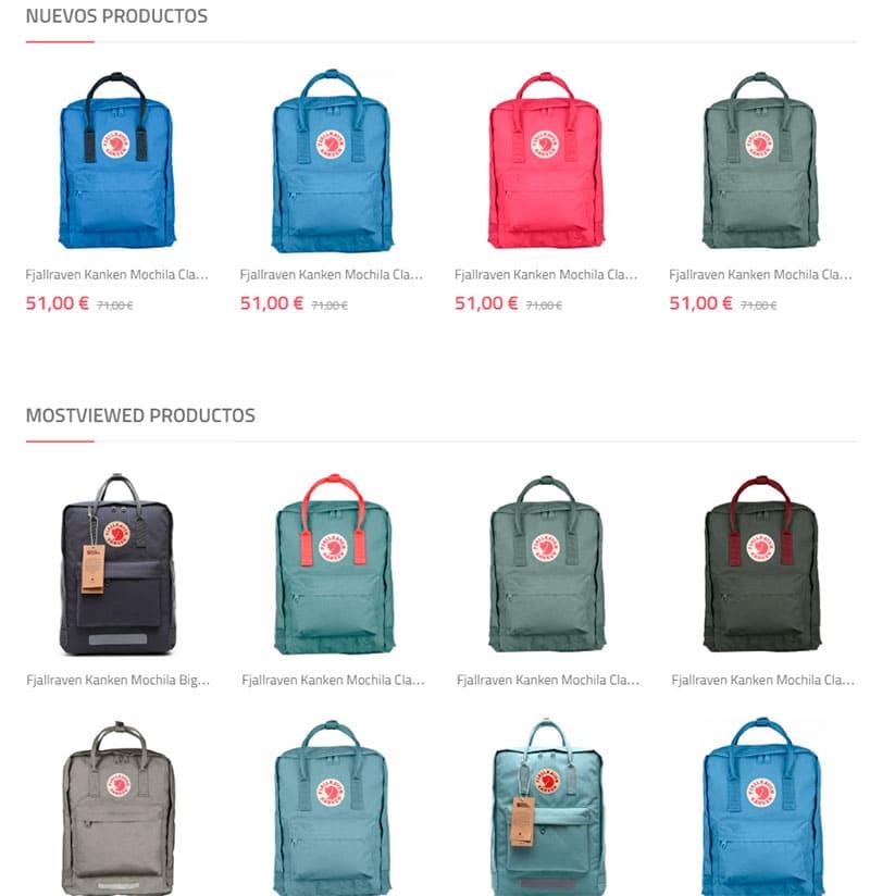 Fjallravenkankenmochilas.com.es Fake Online Shop Backpacks