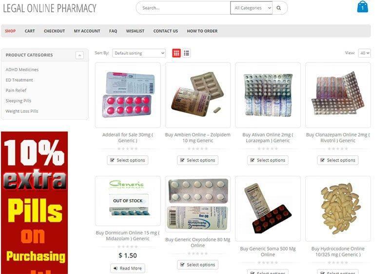 Legalonlinepharmacy.com Tienda Falsa Online Medicamentos