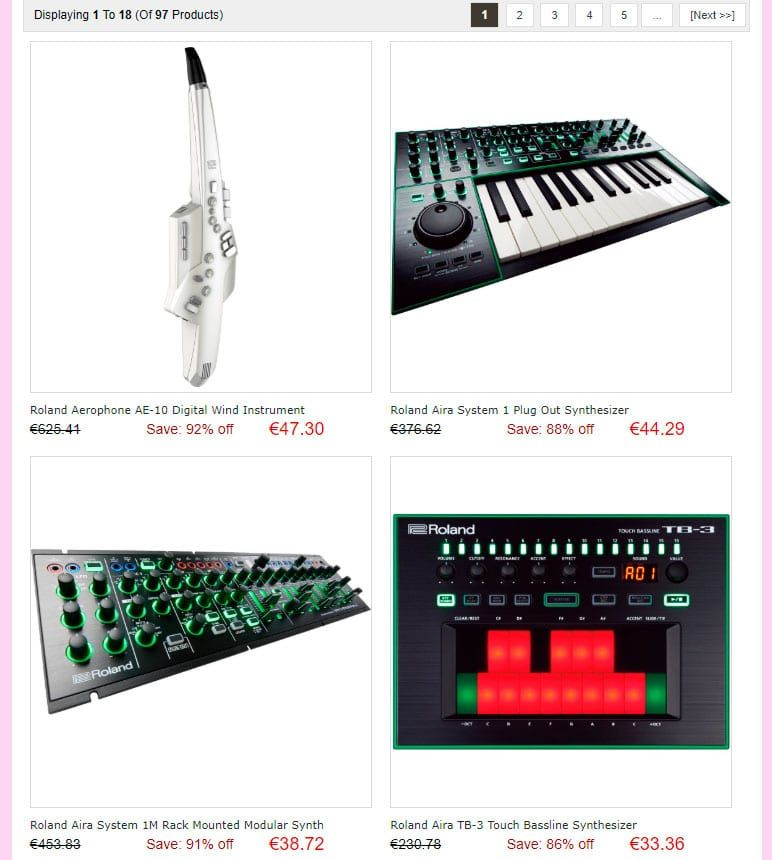 Museb.xyz Fake Online Shop Musical Instruments