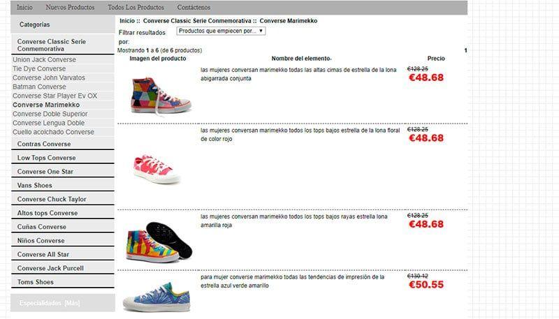Www.converseoutletmadrid.es Fake Online Shop Sneakers