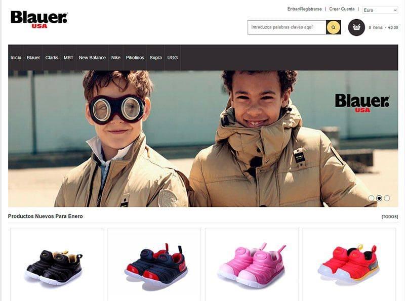 Acasavalencia.es Tienda Falsa Online Zapatos Blauer Clarks