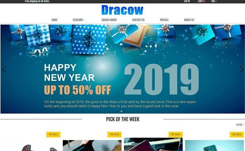 Dracow.club Tienda Falsa Online Tecnologia