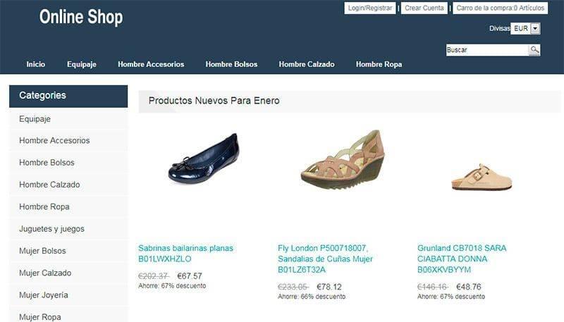 Gummadrid.es Tienda Falsa Online Moda