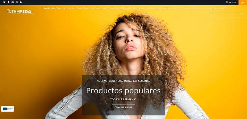 Intrepidashop.com Tienda Falsa Online Multiproducto