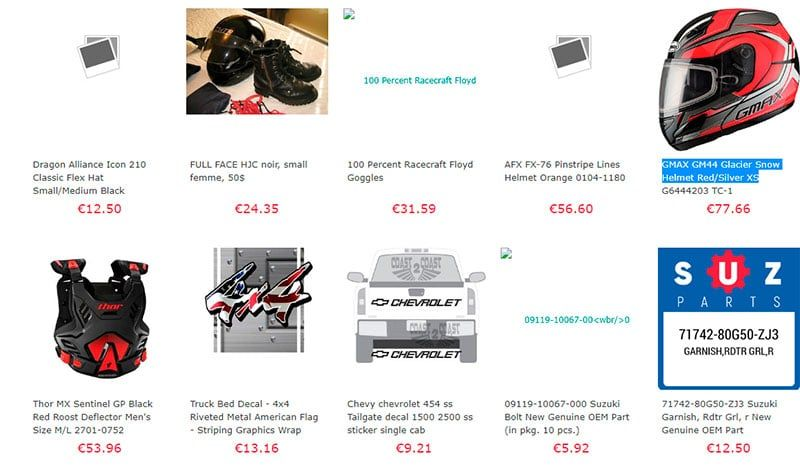 Jobnowshop.xyz Fake Online Shop Motor Products
