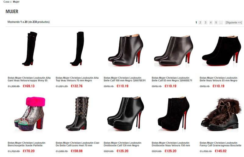 Louboutinventa.es Tienda Falsa Online Zapatos