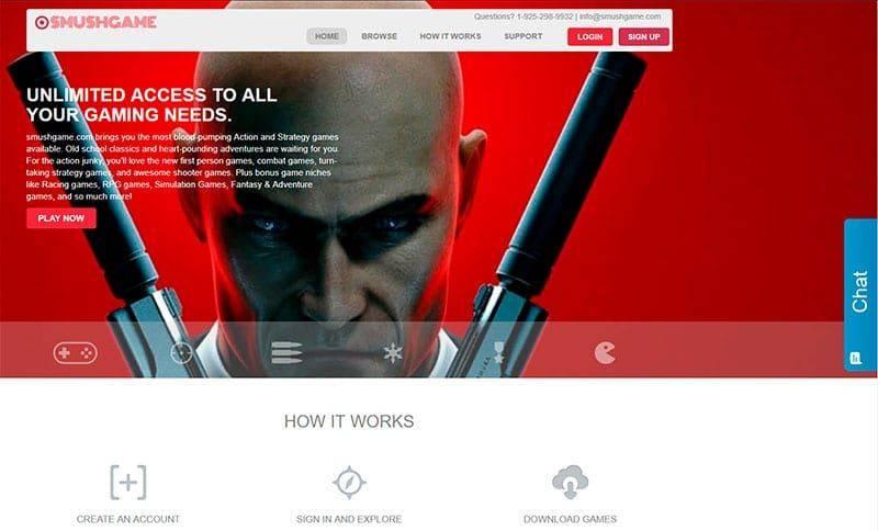 Smushgame.com Portal Videojuegos Estafa