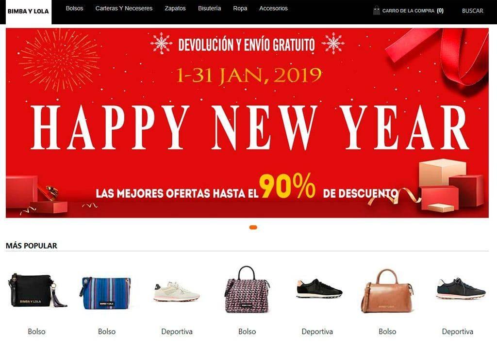 Bimyloventa.com Tienda Falsa Online Bimba Y Lola