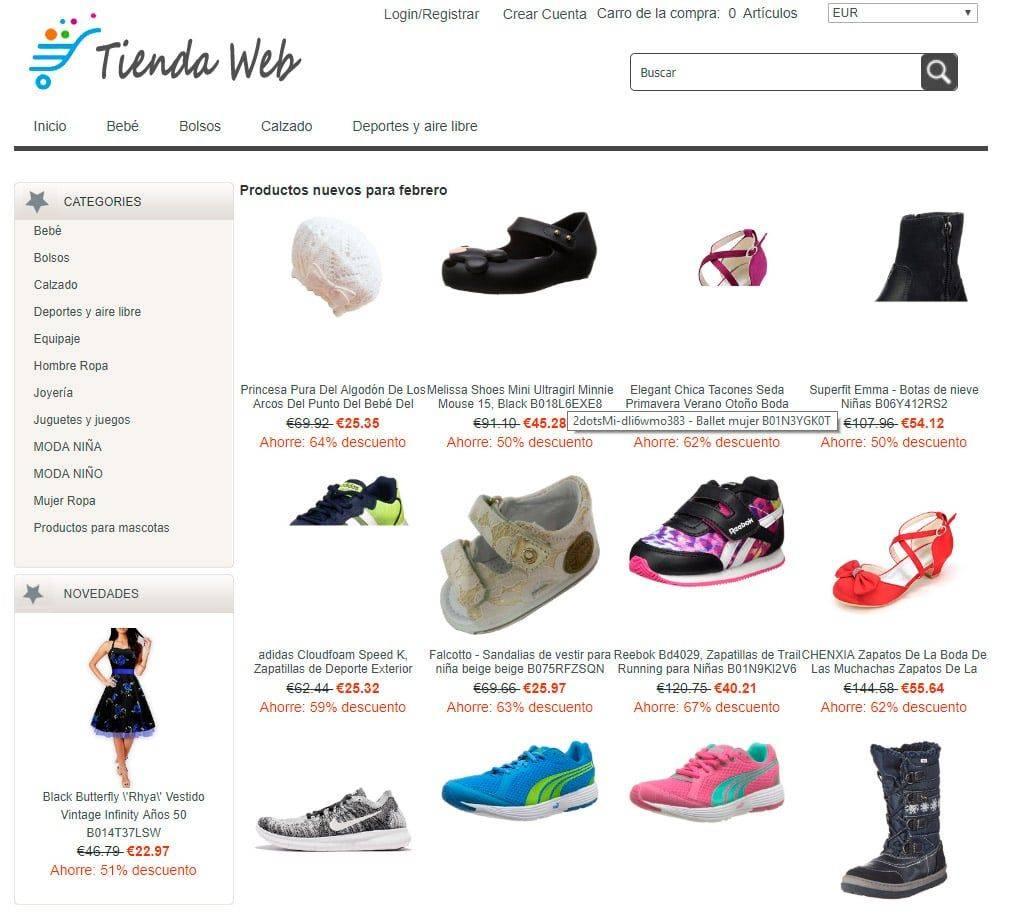 Kuox.es Tienda Falsa Online Estafa Multiproducto