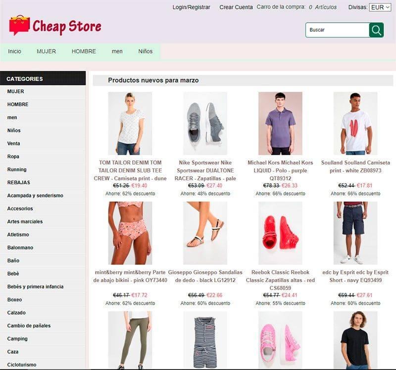 Componentesgil.es Tienda Falsa Online Moda Multiproducto