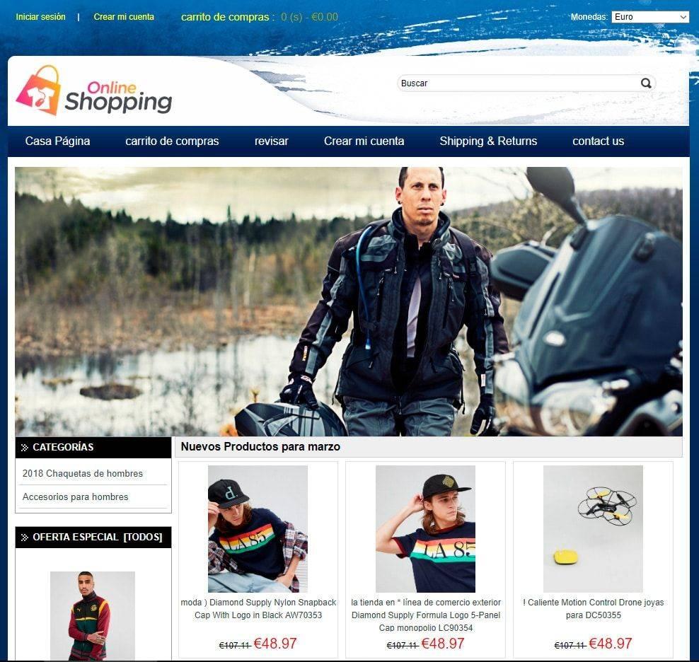 Fisioterapiablog.es Tienda Falsa Online Moda Hombre