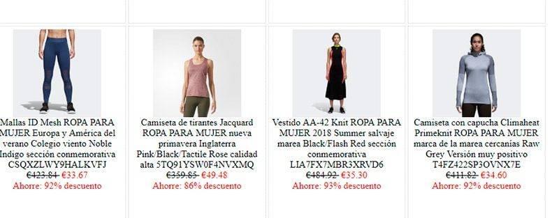 Gadesformacion.es Tienda Falsa Online