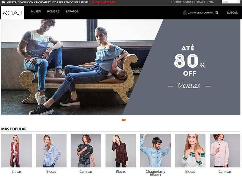 Koajco.online Tienda Online Falsa Moda Koaj