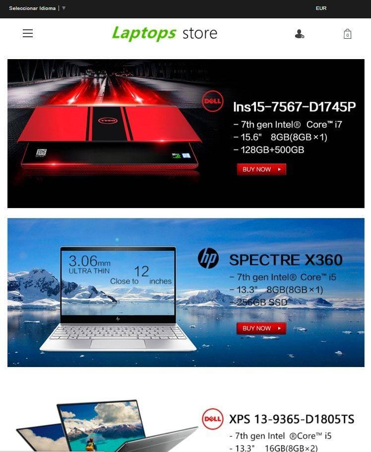 Laptophotdeals.club Tienda Falsa Online Portatiles Alta Gama