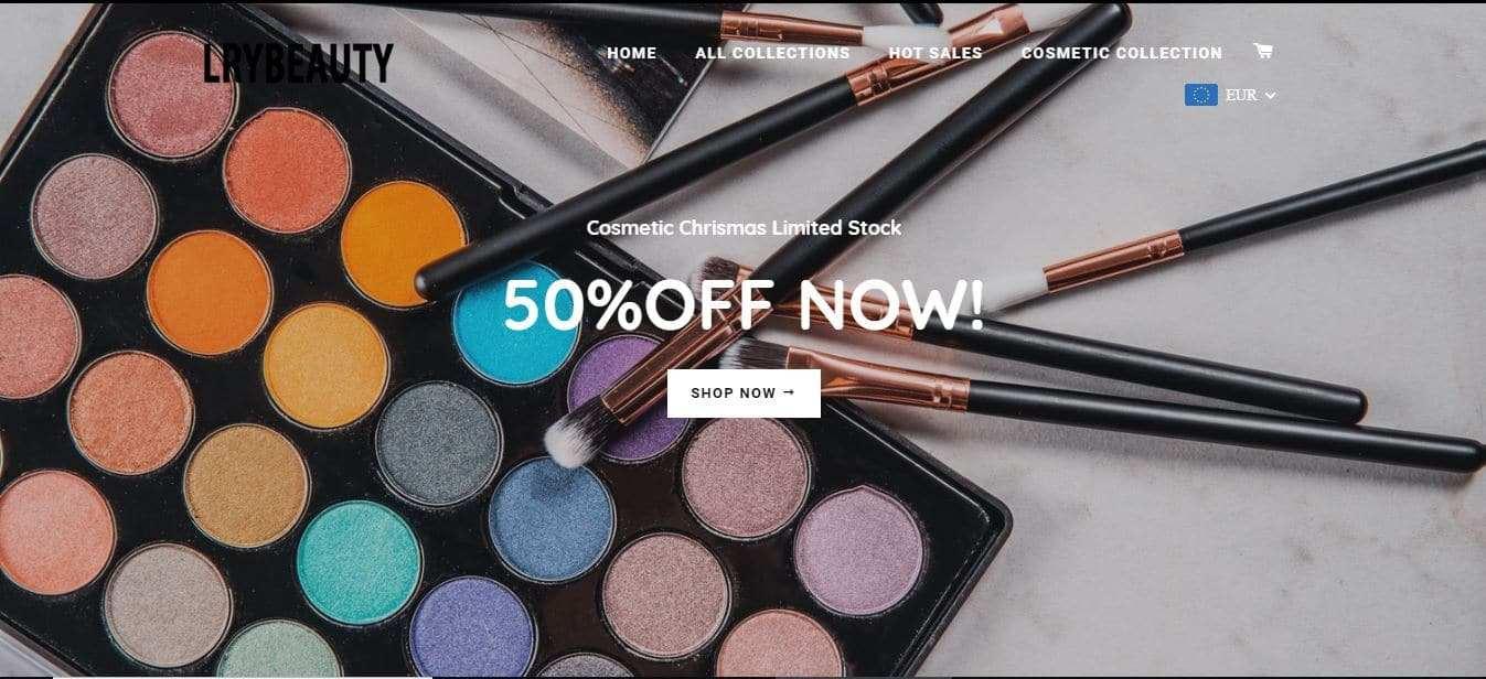 Lryboss.com Tienda Online Falsa Cosmeticos