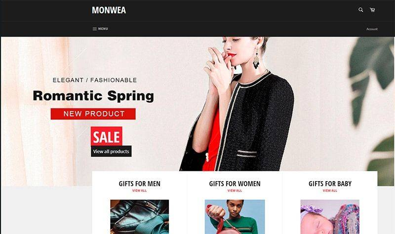 Monwea.com Tienda Online Falsa Smartphones