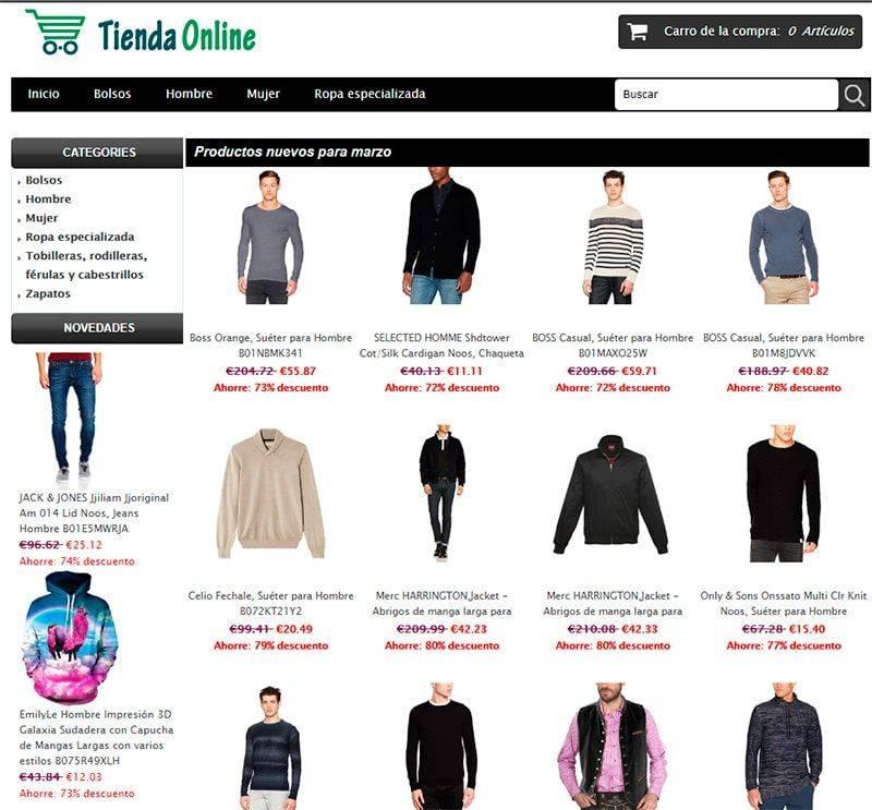 Mundomotorsport.es Tienda Falsa Online Moda