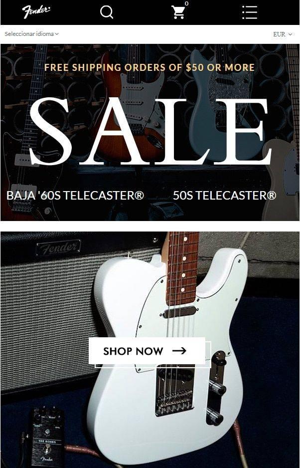 Aguitarhot.shop Tienda Online Falsa Guitarras Fender