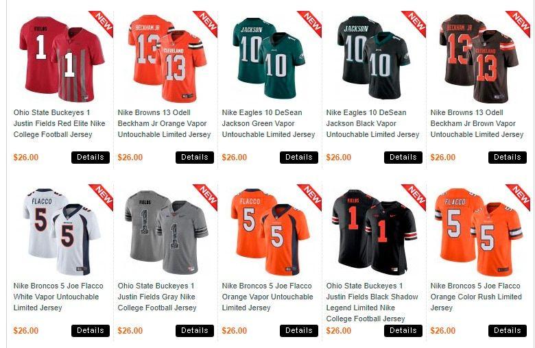 jerseysale.info fake shop online