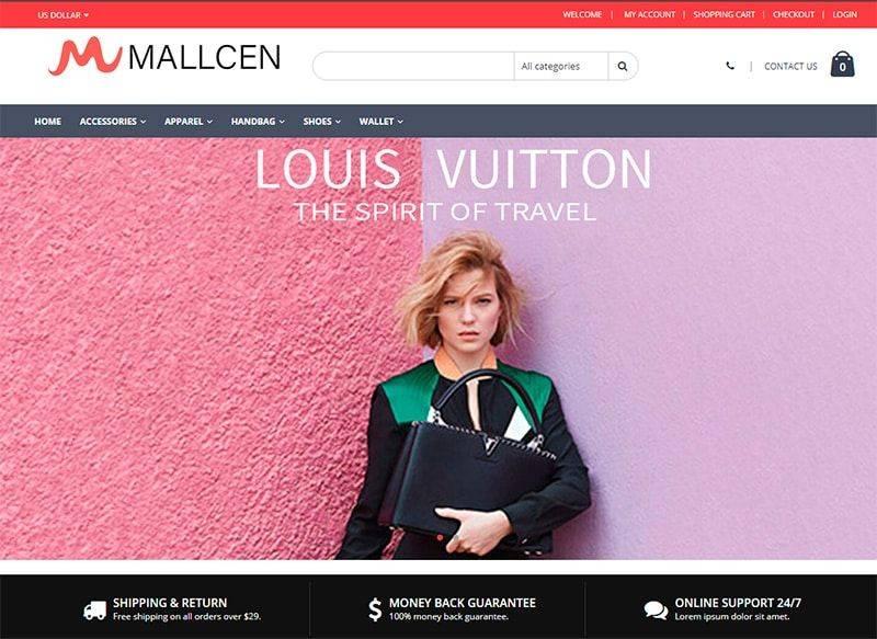 Mallcen.com Tienda Falsa Online Moda