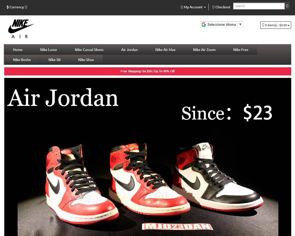 fake online shop Nike Fakes, Scams and frauds of