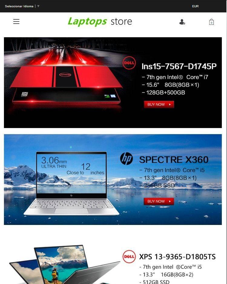 Shopcompute.site Tienda Falsa Online Portatiles Dell Asus Hp Alienware