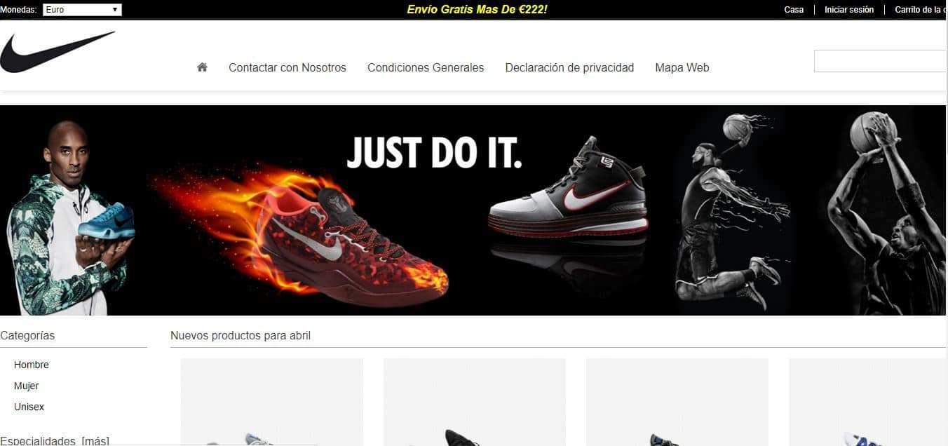 zapatillasnikefactory.es fake online shop Nike Fakes