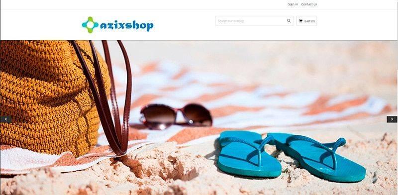 Azixshop.com Tienda Falsa Online Camisetas Polos