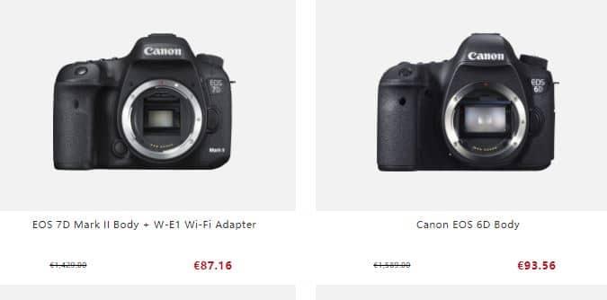 Canonshop.site Tienda Falsa Online