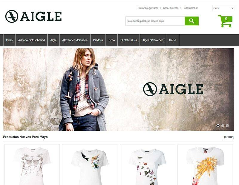 Espaijove.es Tienda Online Falsa Aigle