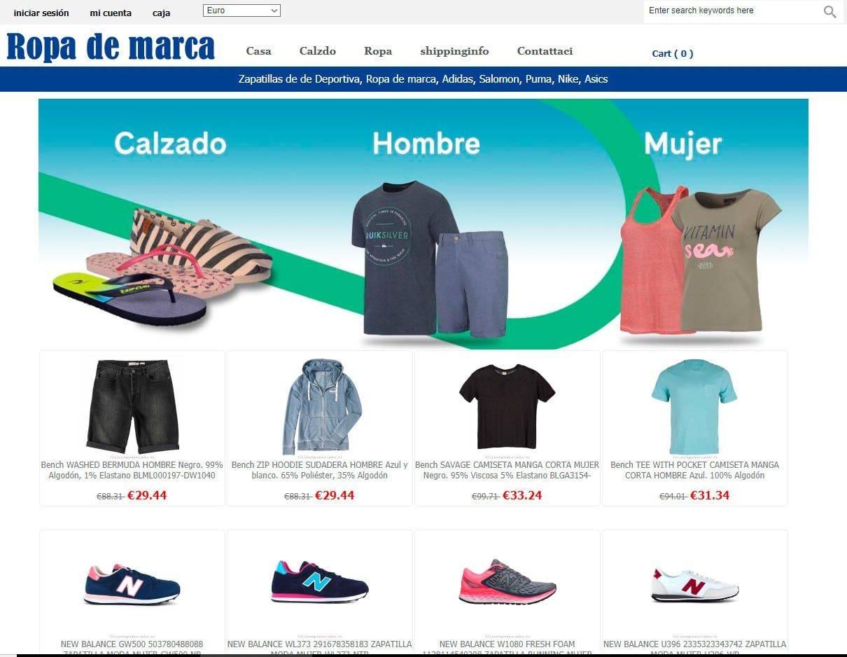 Feijooregoyasociados.es Tienda Online Falsa Moda Marca