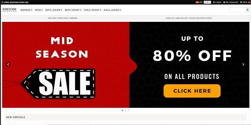 Geoxen.online Tienda Online Falsa Geox