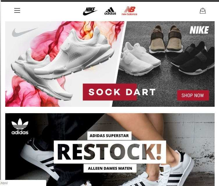 Nikekc.com Tienda Falsa Online Nike