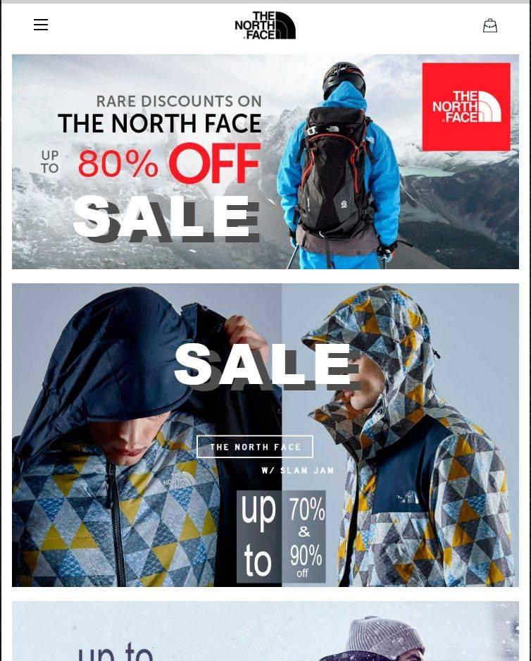 Northerns.site Tienda Online Falsa North Face