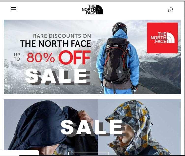 Notvp.com Tienda Falsa Online North Face